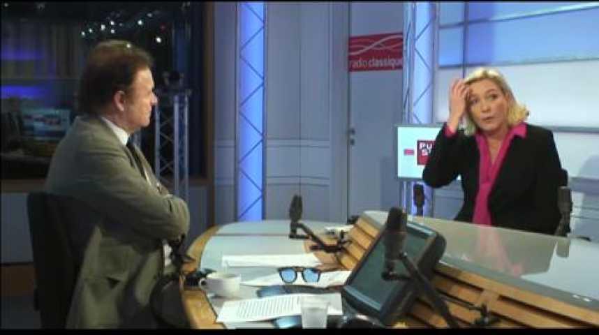 """Illustration pour la vidéo Marine Le Pen : """"l'UMP n'a plus rien à dire"""""""