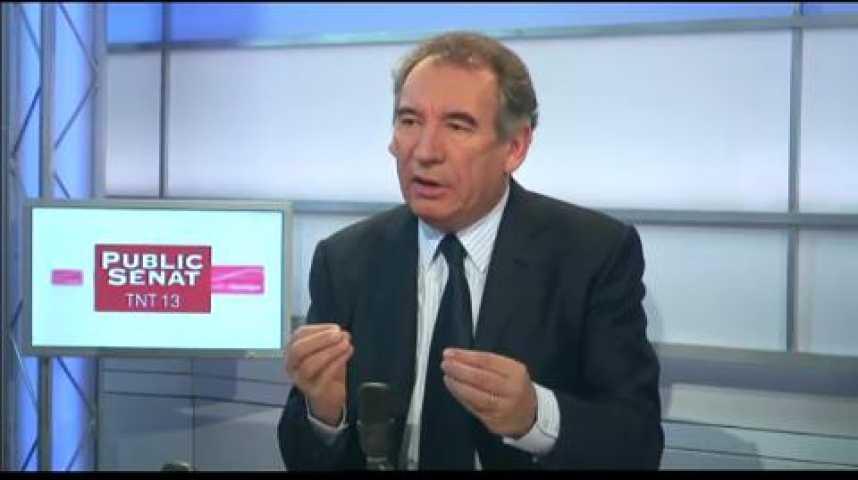 Illustration pour la vidéo L'invité politique : François Bayrou (Mouvement démocrate)