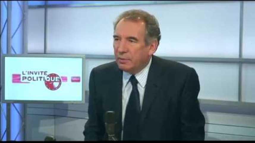 """Illustration pour la vidéo François Bayrou : """"L'idée de faire du crédit d'impôt est une usine à gaz"""""""