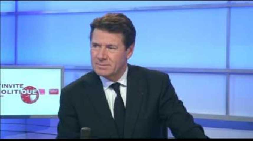 Illustration pour la vidéo L'invité politique : Christian Estrosi (vice-président de l'UMP, maire de Nice)