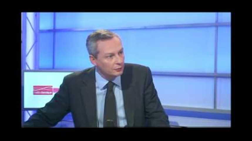 """Illustration pour la vidéo Bruno Le Maire sur le Chevalgate : """"Il y a urgence à améliorer l'étiquetage"""""""