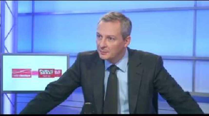 Illustration pour la vidéo L'invité politique : Bruno Le Maire (UMP)