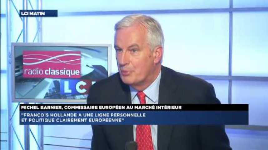 """Illustration pour la vidéo Michel Barnier : """"Il faut traiter la question des Roms avec davantage de calme"""""""