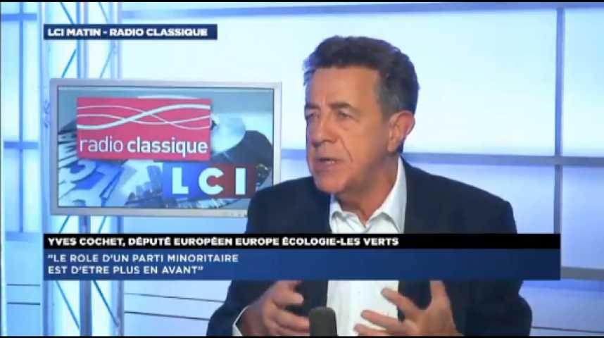 """Illustration pour la vidéo Yves Cochet (EELV) : """"Si on n'est pas entendu, il faudra sortir du gouvernement"""""""