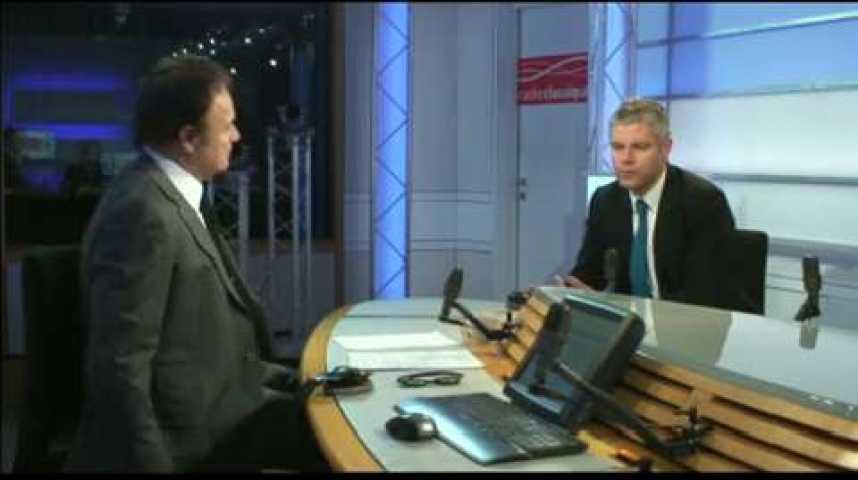 Illustration pour la vidéo Linvité politique : Laurent Wauquiez (UMP)