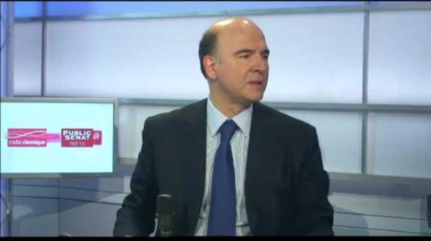 Illustration pour la vidéo L'invité politique : Pierre Moscovici, Ministre de l'Economie et des Finances