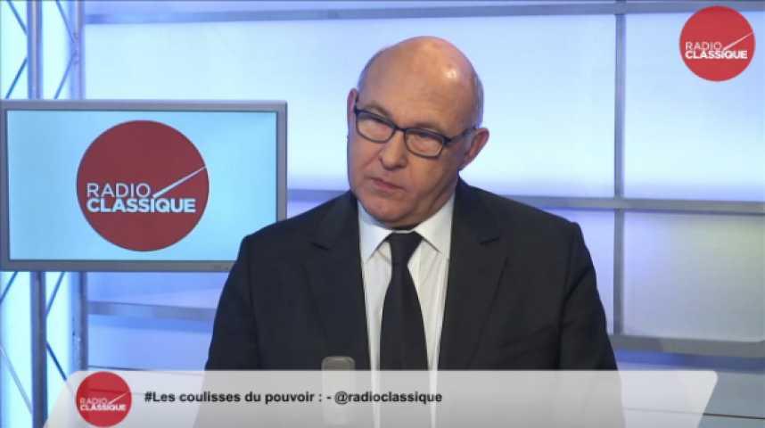 """Illustration pour la vidéo Michel Sapin: """"La France décide pour elle-même des réformes qui sont bonnes pour elle-même, la France est souveraine."""""""