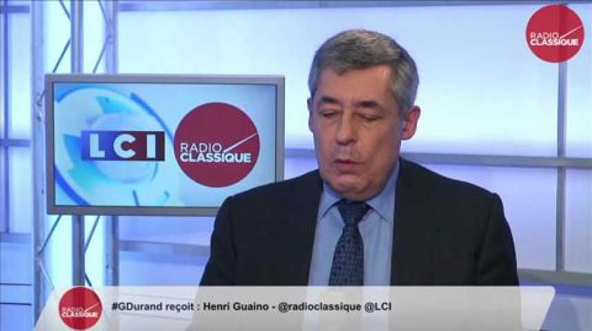 """Illustration pour la vidéo Henri Guaino: """"Le Premier Ministre fait une faute politique majeure en faisant campagne de cette façon."""""""