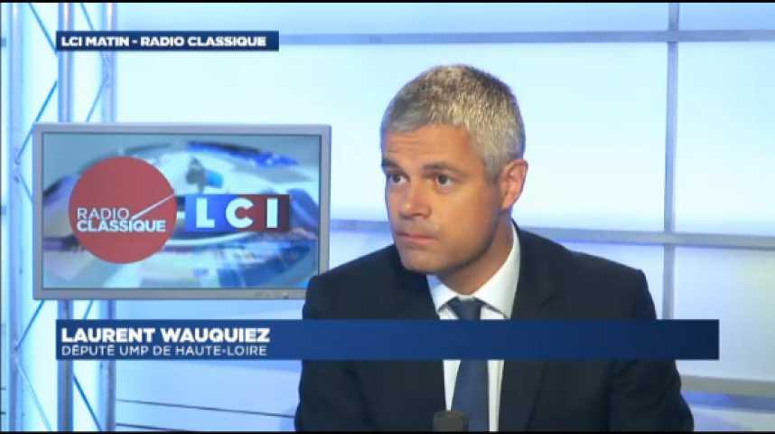 Illustration pour la vidéo Laurent Wauquiez: « La question n'est pas de savoir si Nicolas Sarkozy a changé ou non mais ce qu'il veut changer pour la France »