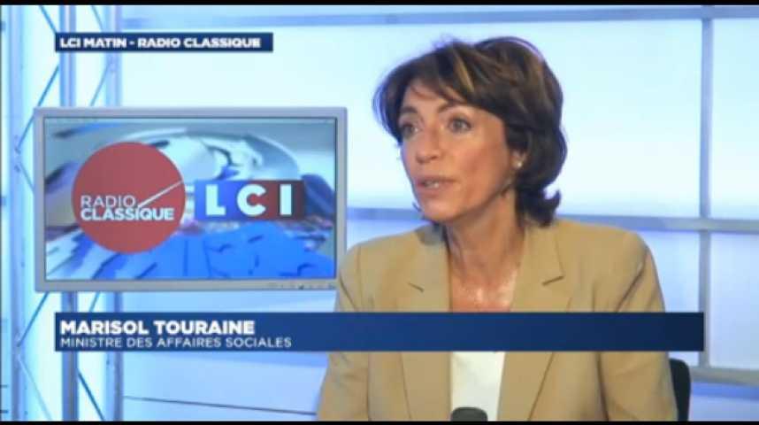 """Illustration pour la vidéo Marisol Touraine : """"Thévenoud : Il est le seul à pouvoir prendre la décision qui s'impose"""""""