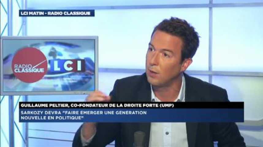 """Illustration pour la vidéo Guillaume Peltier :  """"Il nous faudra tout faire pour obtenir la démission de François Hollande"""""""