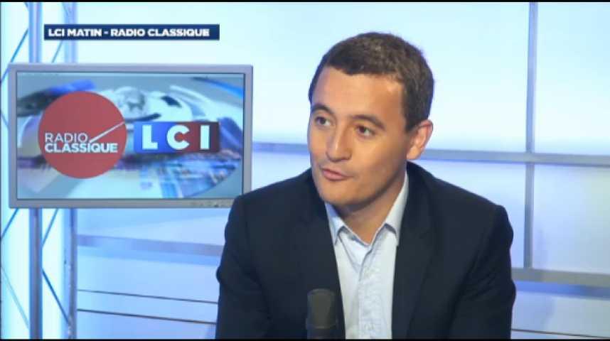 """Illustration pour la vidéo Gérald Darmanin : """"L'UMP n'est aujourd'hui pas crédible pour remplacer le Parti socialiste au pouvoir"""""""