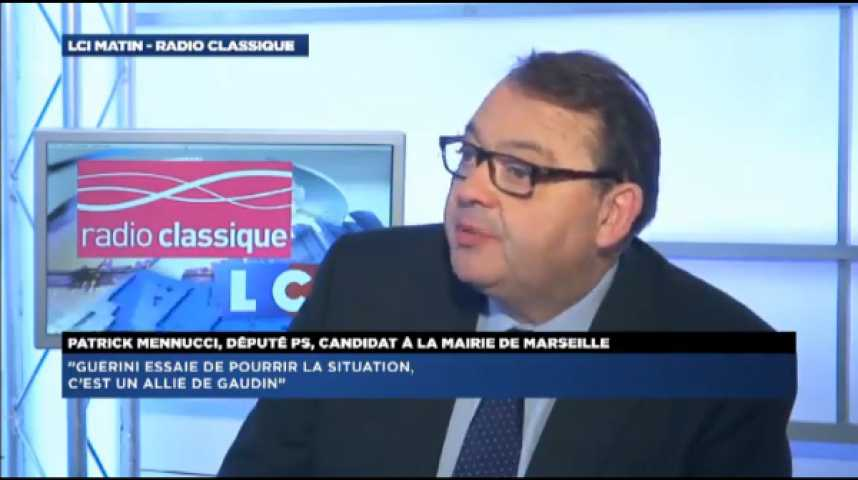 """Illustration pour la vidéo Patrick Mennucci: """"La masse salariale est anormale à Marseille!"""""""