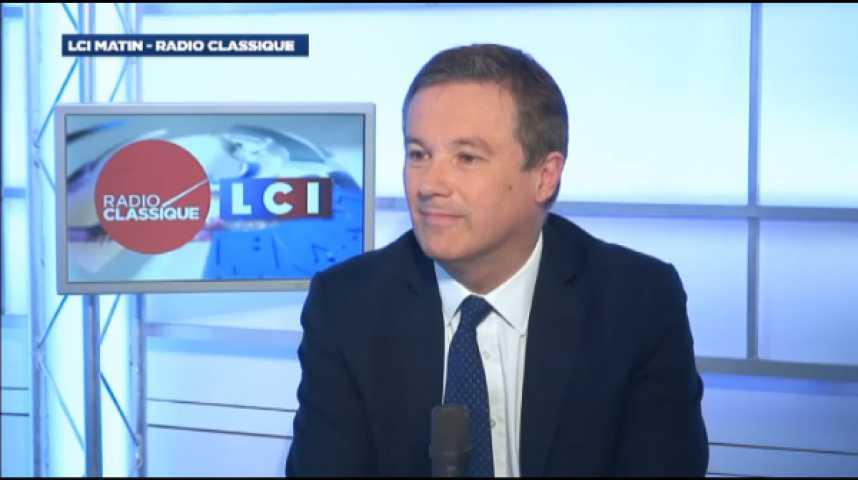 """Illustration pour la vidéo Nicolas Dupont-Aignan: """"C'est un gouvernement à la ramasse"""""""