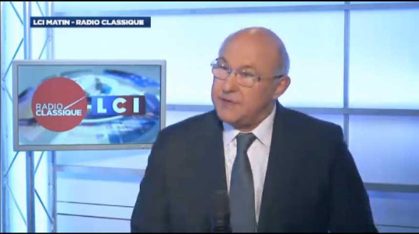 """Illustration pour la vidéo Michel Sapin : """"Avec le gouvernement Valls, c'est le temps des résultats"""""""