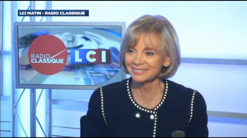 """Illustration pour la vidéo Elisabeth Guigou : """"Je n'ai pas l'impression que le retour de Nicolas Sarkozy fasse plaisir à tout le monde dans sa famille politique"""""""
