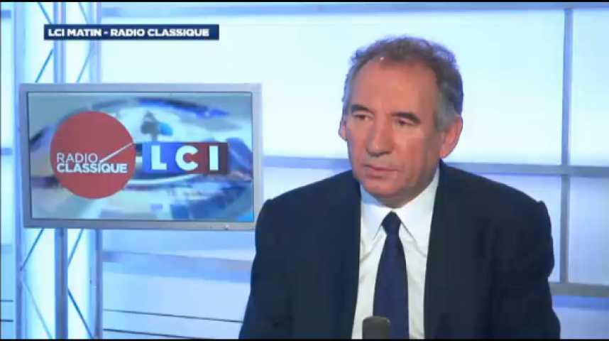 """Illustration pour la vidéo François Bayrou : """"Je me suis opposé à Nicolas Sarkozy pour défendre un principe : la loi doit être la même pour tous"""""""