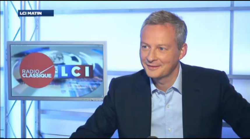 """Illustration pour la vidéo Bruno Le Maire : """"La grande illusion, c'est de penser que l'on peut redresser la France en gardant le même modèle économique et social"""""""
