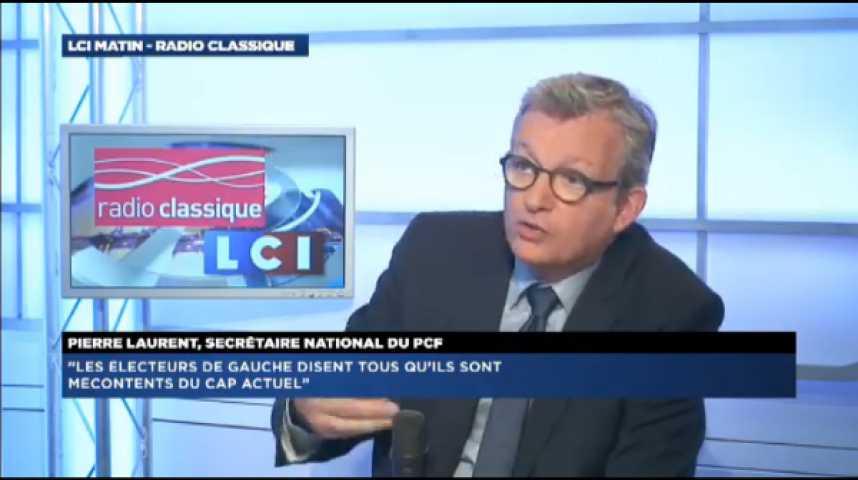 """Illustration pour la vidéo P. Laurent (PCF) : """"Nous sommes dans une crise politique extrêmement inquietante"""""""