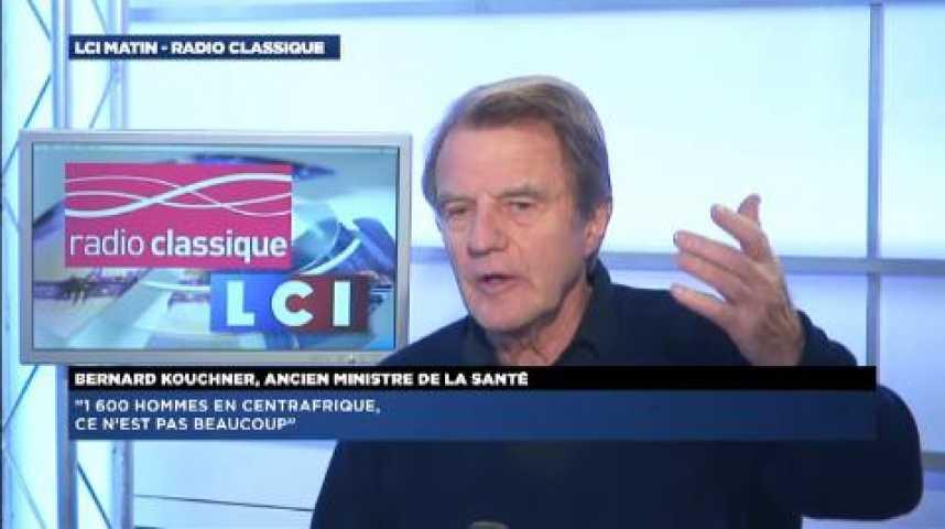 """Illustration pour la vidéo Bernard Kouchner: """"L'absence de l'Europe en Centrafrique me gêne beaucoup"""""""