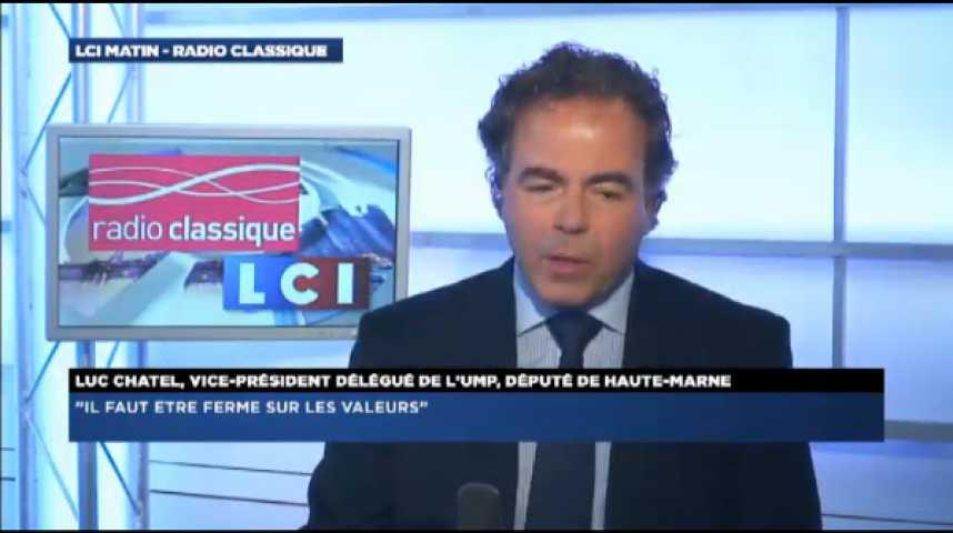 """Illustration pour la vidéo Luc Chatel: """"Pour que l'UMP gagne aux municipales, il faut de l'unité et du rassemblement"""""""