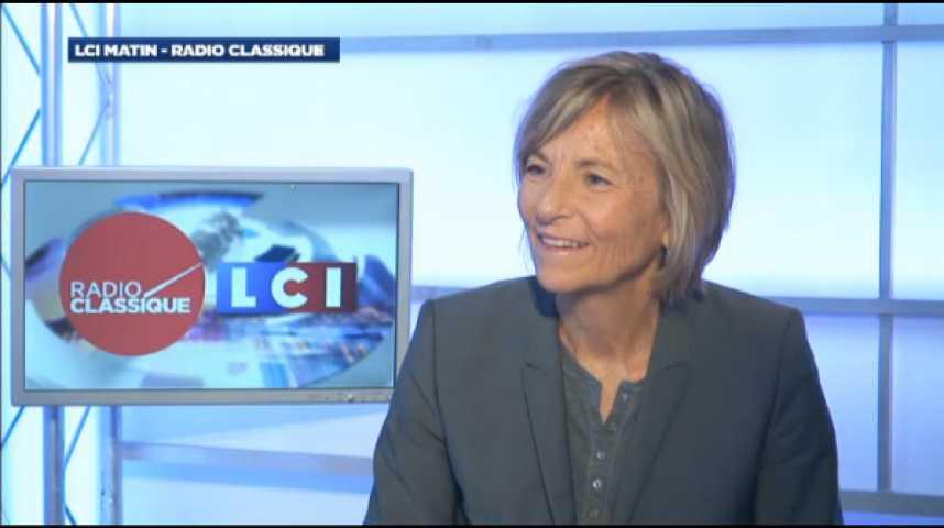 """Illustration pour la vidéo Marielle de Sarnez : """"Les dirigeants français ne défendent pas une vision de l'Europe"""""""