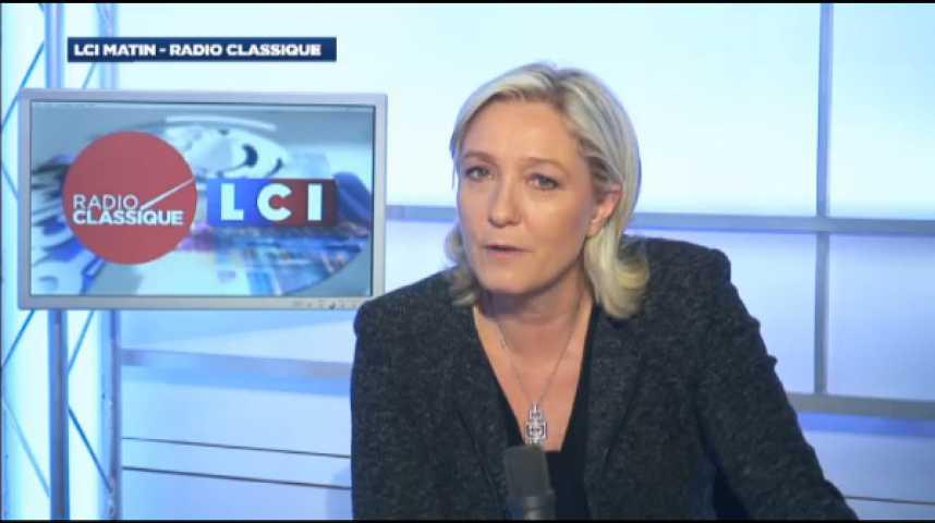 """Illustration pour la vidéo Marine Le Pen: """"Les abstentionnistes sont l'armée de réserve de la France libre"""""""