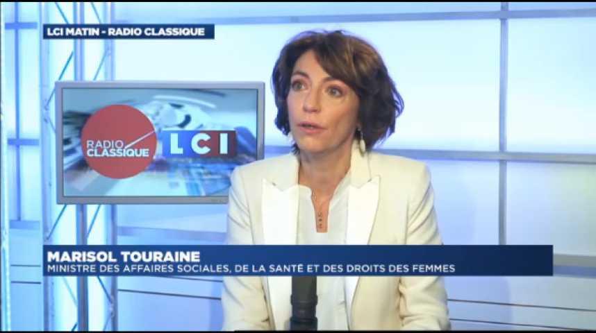 """Illustration pour la vidéo Marisol Touraine : """"La loi va rétablir le principe d'un service public hospitalier"""""""
