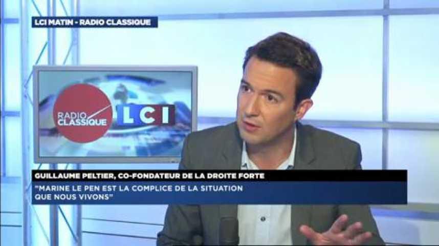 """Illustration pour la vidéo Guillaume Peltier : """"La Droite Forte ne doit pas disparaître"""""""