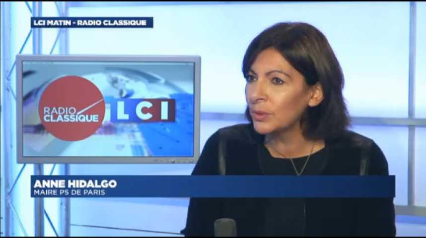 """Illustration pour la vidéo Anne Hidalgo : """"J'apprécie beaucoup Juppé en tant que maire"""""""