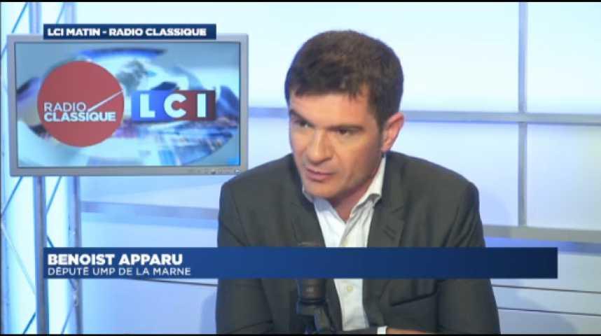 Illustration pour la vidéo Benoist Apparu :Disparition de Christophe de Margerie :  « C'est une grande perte pour l'entreprise et pour la France. »
