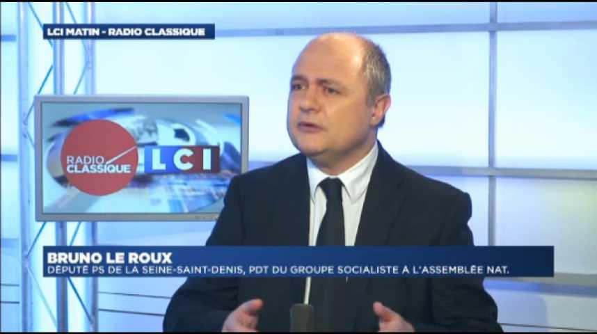 """Illustration pour la vidéo Bruno Le Roux : """"Florange : nous ne laisserons pas tomber les salariés."""""""
