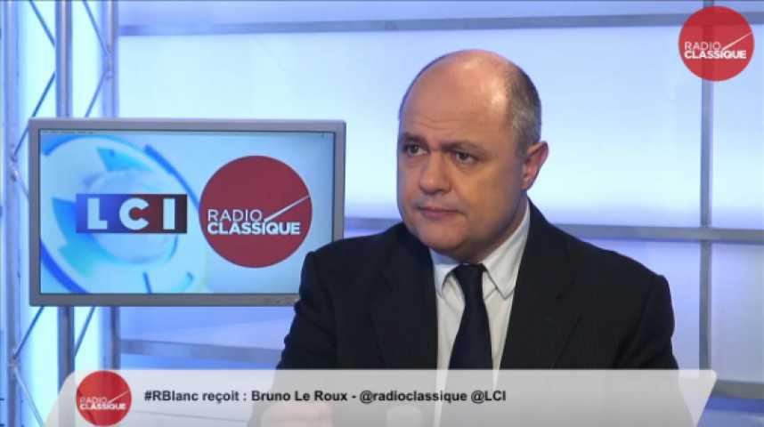 """Illustration pour la vidéo Bruno Le Roux : """" C'est une tension mondiale"""""""