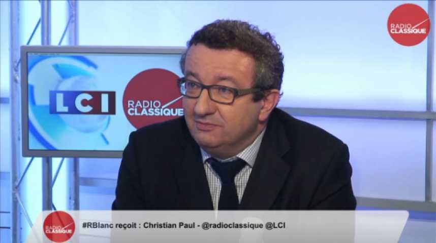 """Illustration pour la vidéo Christian Paul : """"Je n'écarte pas l'option de changer de Premier Ministre"""""""