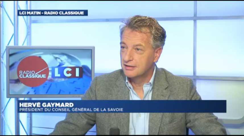 """Illustration pour la vidéo Hervé Gaymard : """"S'il n'y a pas de Primaires, Alain Juppé se présentera au premier tour des présidentielles """""""