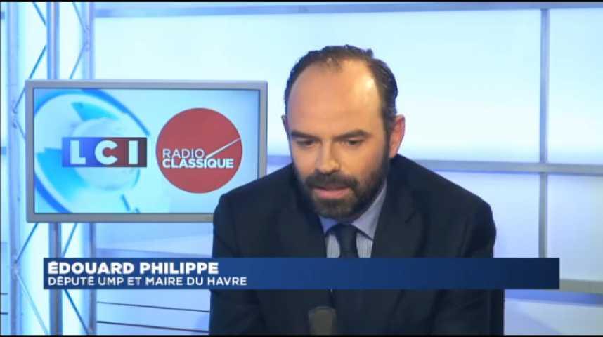 Illustration pour la vidéo Édouard Philippe : « Je ne suis pas sûr qu'il faille un Patriot Act »