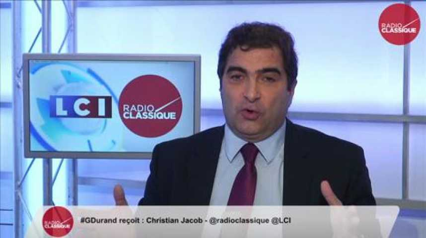"""Illustration pour la vidéo Christian Jacob, """"Manuel Valls voit ses jours comptés à Matignon"""""""