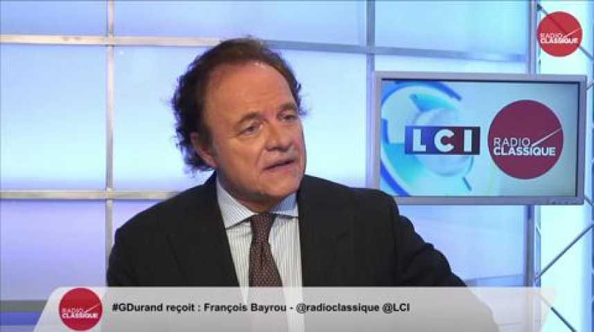 """Illustration pour la vidéo François Bayrou, """"Il faut obtenir une loi électorale enfin juste, et si ça n'arrive pas, c'est une responsabilité et une faute"""""""