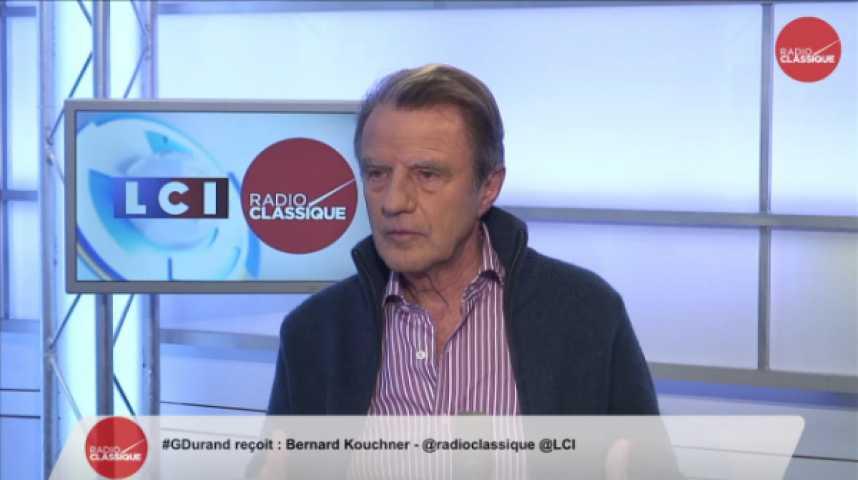"""Illustration pour la vidéo Bernard Kouchner : """"La victoire de Syriza donne de l'espoir aux Grecs, c'est une bonne chose"""""""