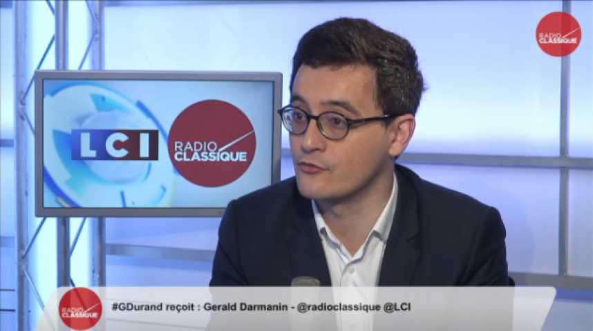 Illustration pour la vidéo Gerald Darmanin : « Le Doubs est une conquête du FN contre le PS et non pas contre l'UMP »