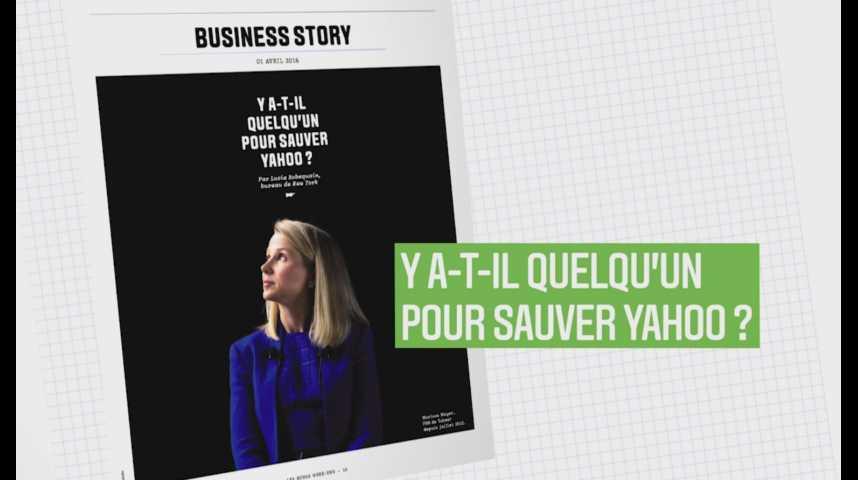 Illustration pour la vidéo Les Echos Week-End : Y a-t-il quelqu'un pour sauver Yahoo ?