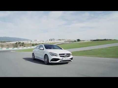 The new Mercedes-AMG CLA 45 4MATIC Shooting Brake Driving Video | AutoMotoTV