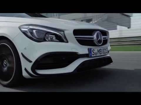 The new Mercedes-AMG CLA 45 4MATIC Driving Video Race Track Trailer | AutoMotoTV