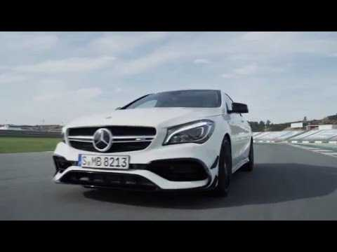 The new Mercedes-AMG CLA 45 4MATIC Driving Video Race Track | AutoMotoTV