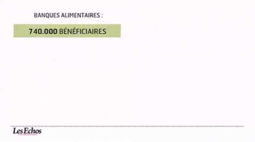 Illustration pour la vidéo L'infographie du jour : L'aide alimentaire aux plus démunis