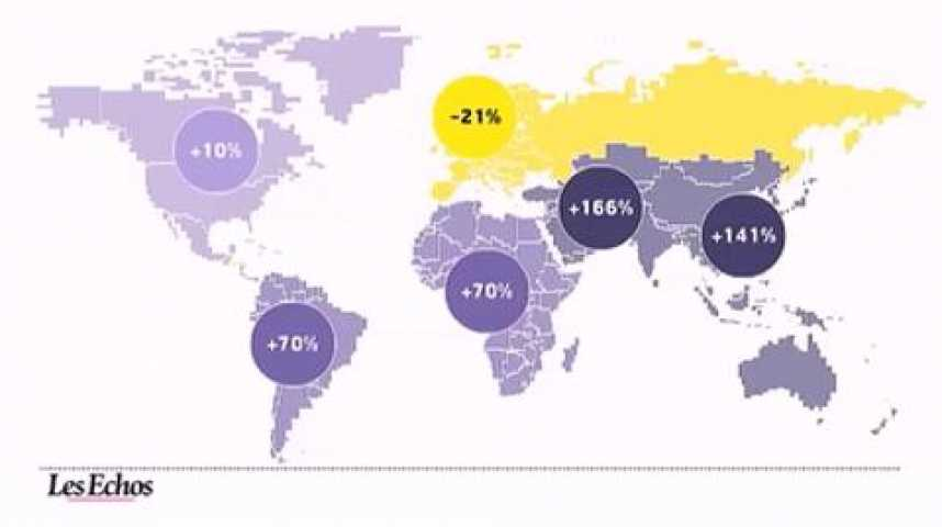 Illustration pour la vidéo L'infographie du jour : réchauffement climatique et protocole de Kyoto