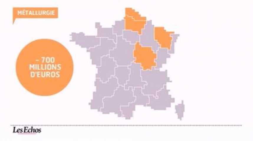 Illustration pour la vidéo L'infographie du jour : La conjoncture des régions françaises