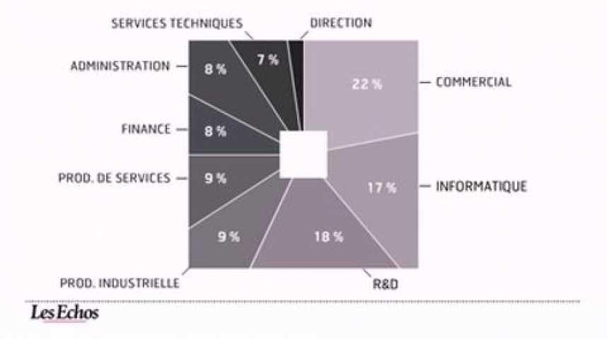 Illustration pour la vidéo L'infographie du jour : Les perspectives pour l'emploi cadre en 2011