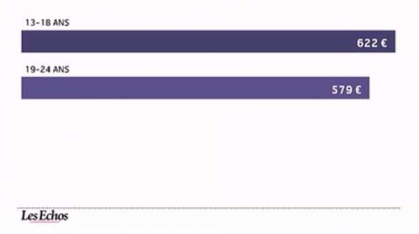 Illustration pour la vidéo Le budget mode a diminué en 2011