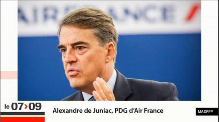 """Illustration pour la vidéo """"Air France : l'info, l'intox et le fond"""""""